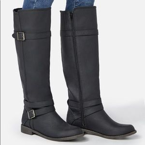 NEW! Ride Around Faux Leather Boot